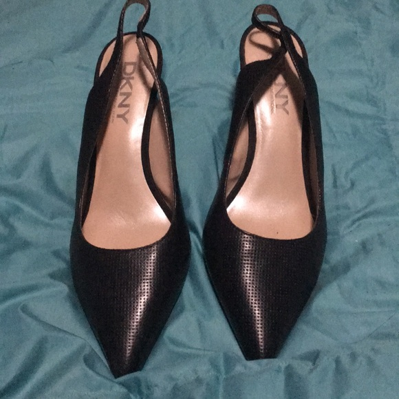 Dkny Shoes - DKNY Slingback kitten heels